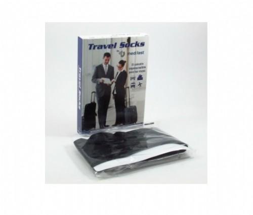Calcetin de viaje - medilast (negro t- gde un par)