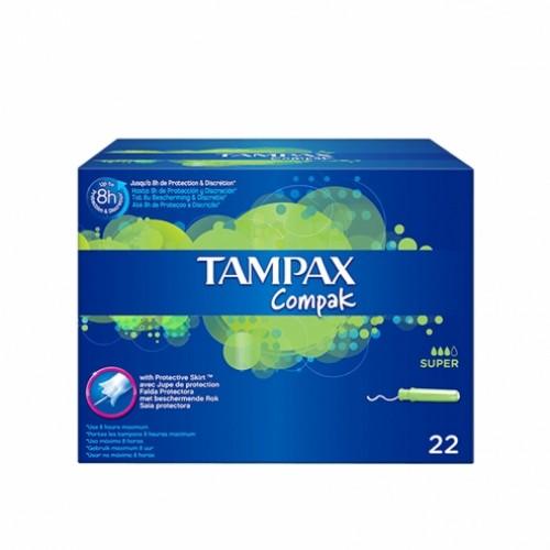 Tampon tampax super plus 20 unid