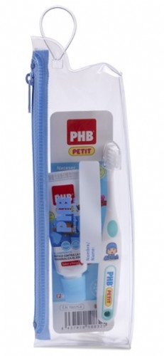 Kit dental neceser phb plus petit (gel y cepillo)