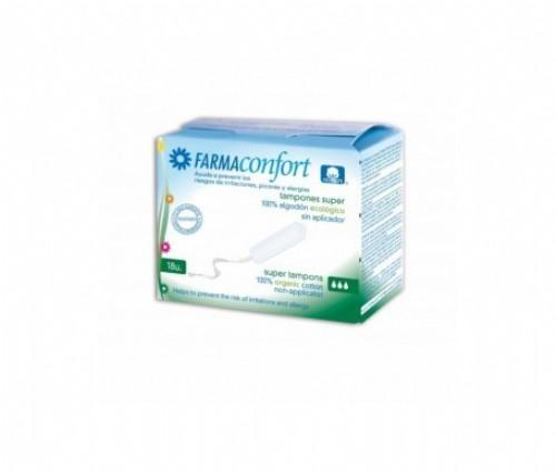 Tampones digital algodon - farmaconfort (super 18 u)