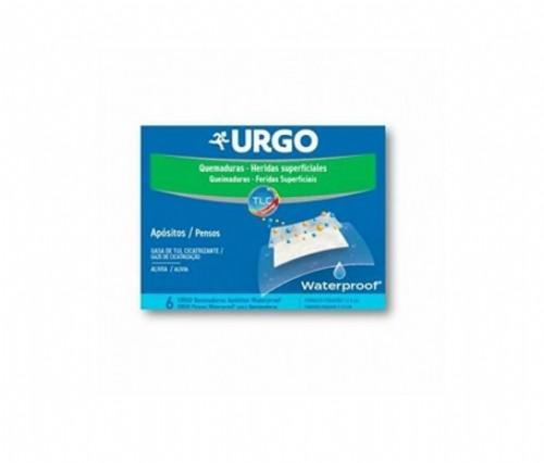 Urgo quemaduras waterproof (apositos 7 x 5 cm 6 u)