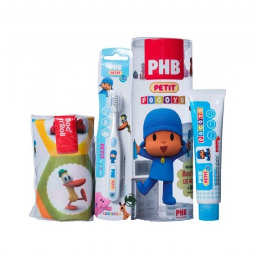 Pack phb petit gel dentifrico infantil + cepillo (c/ regalo)