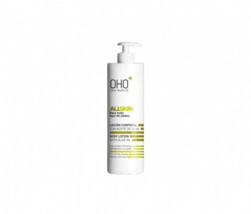 Oho locion corporal con aceite de oliva (750 ml)