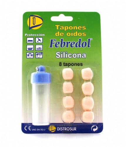 Tapones oidos silicona - vcs (8 u)