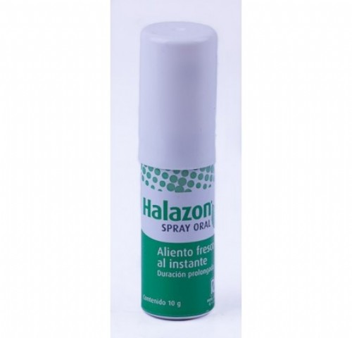 Halazon spray oral (10 g)