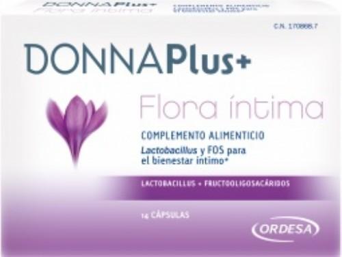 Donna plus+ flora intima (14 capsulas)