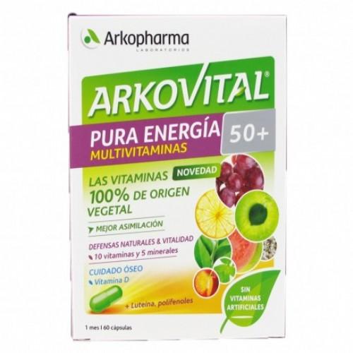 Arkovital pura energia 50+ (60 capsulas)
