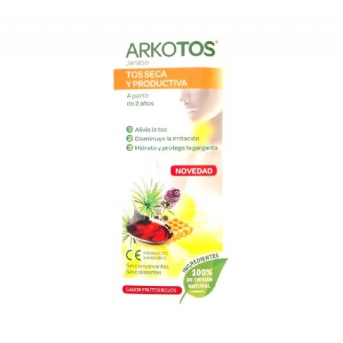 Arkotos tos seca y productiva (140 ml)