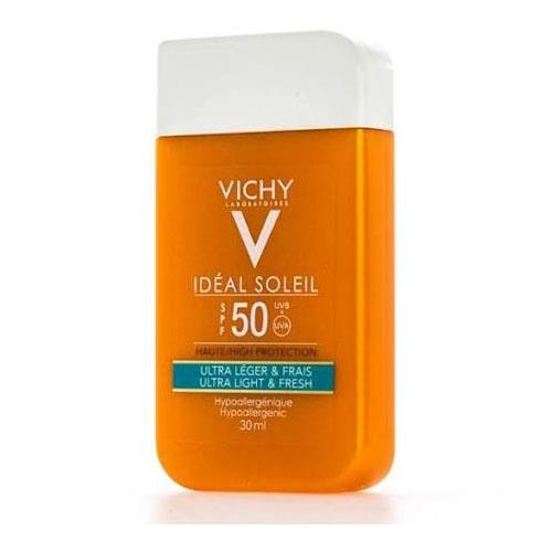 Ideal soleil spf50 fluido hidratante tacto seco (pocket 30 ml)