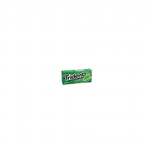 Chicle trident grageas hierbab24x10