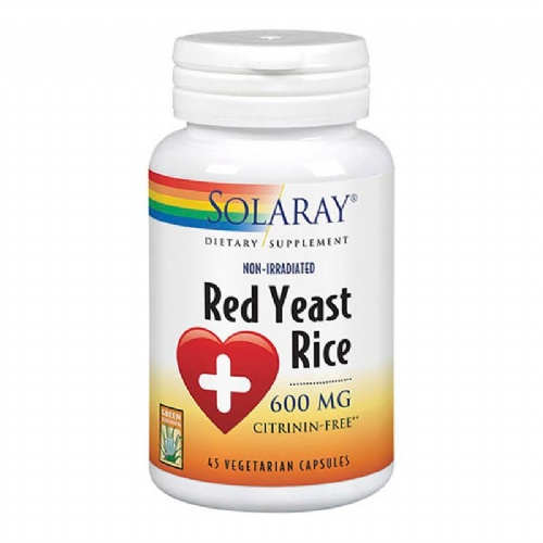 Solaray red yeast rice 45 caps