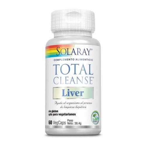 Solaray total cleanse liver 60 veg