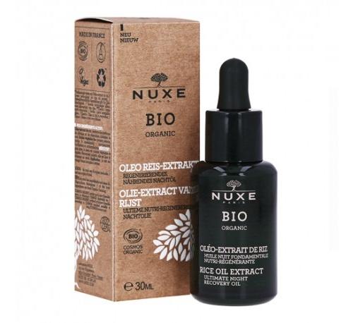 Nuxe bio aceite de noche nutri-regenerante 30 ml