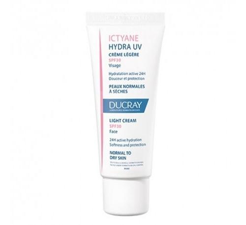 Ictyane hidra uv spf 30 crema ligera - ducray (40 ml)