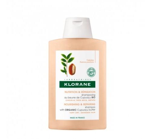 Klorane champu a la manteca de cupuaçu bio (200 ml)