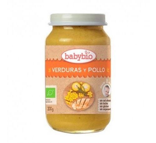 Babybio potito verduras pollo 200g
