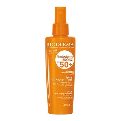 Photoderm bronz bruma spf 50 / uva 27 - bioderma (spray 200 ml)