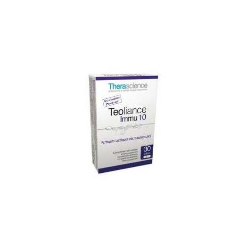 Teoliance inmu 10 (30 capsulas)