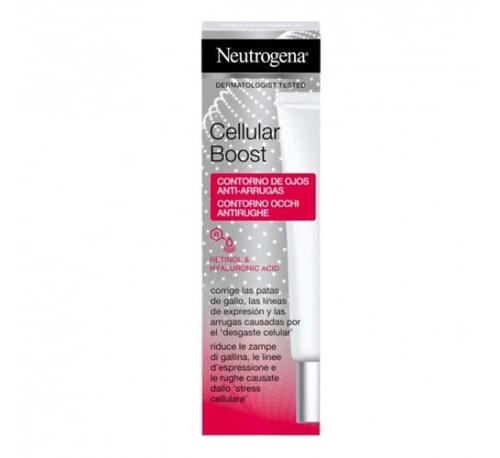 Neutrogena cellular boost contorno de ojos antiarrugas (15 ml)
