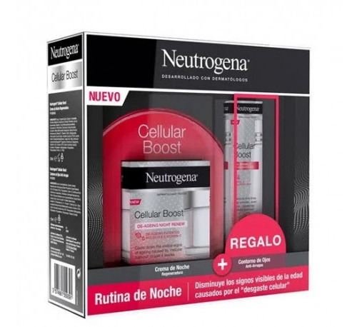 Neutrogena cellular boost crema noche regeneradora (50 ml)