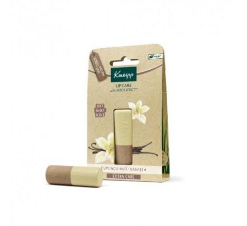 Kneipp balsamo labial extra care (vainilla y cupuaçu 4.7 g)