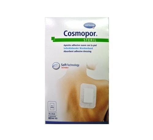 Cosmopor steril - aposito esteril (10 cm x  6 cm  5 apositos)