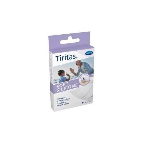 Tiritas soft silicone - aposito adhesivo (5 u 6 x 10 cm)