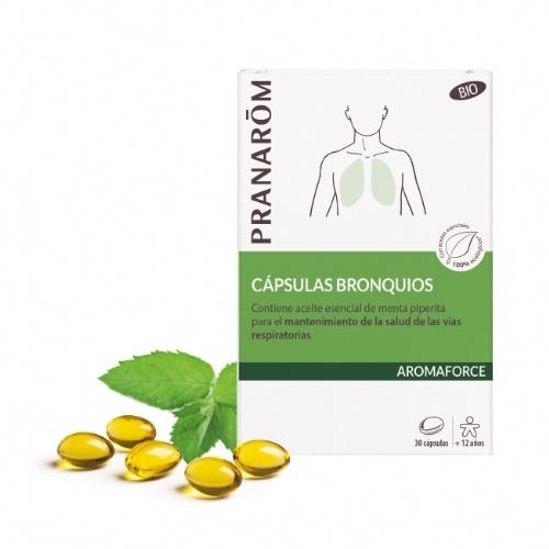 Aromaforce capsulas bronquios bio (30 capsulas)