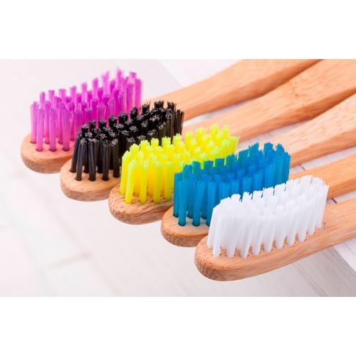 Humble brush cepillo dientes bambu adulto medio