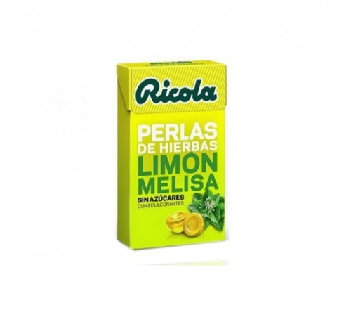 Ricola perlas sin azucar (limon 25 g)