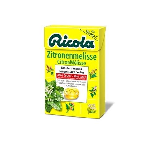 Ricola caramelos sin azucar (limon 50 g)