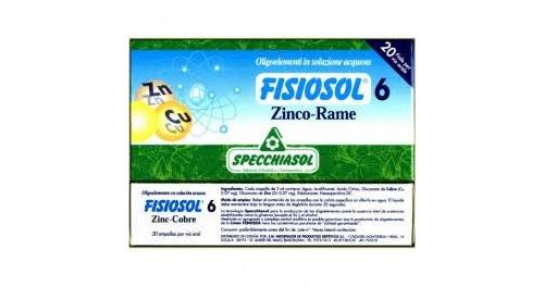 Specchiasol fisiosol 06 zinc-cobre