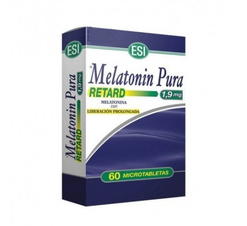 Melatonin retard tab (1.90 mg 60 tabletas)