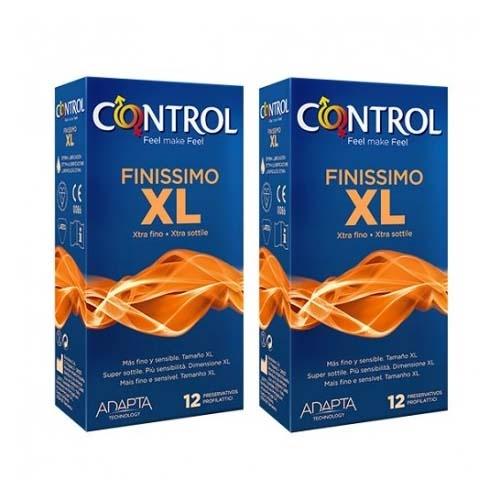 Control finissimo xl - preservativos (12 + 12 u pack ahorro)
