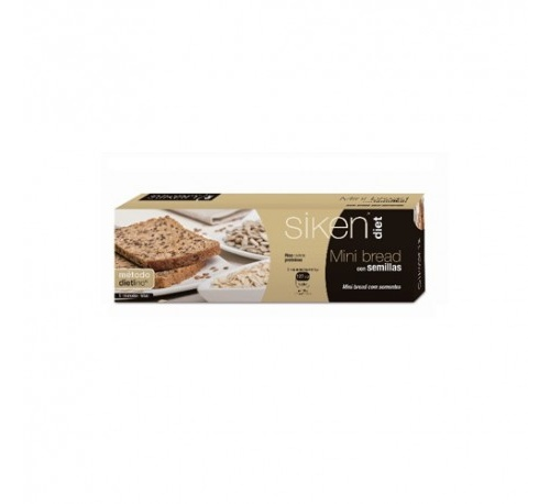 Siken diet bread mini (8 rebanadas)