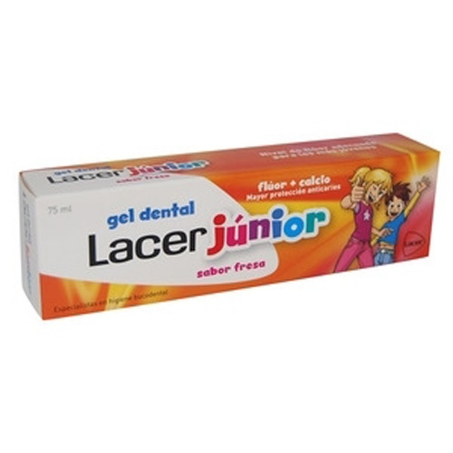 Lacer junior gel dental (75 ml fresa)