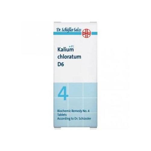 Dhu kalium chloratum d6 80 com