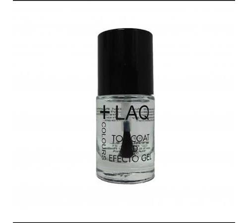 +laq colours top coat 3d efecto gel (1 envase 10 ml)