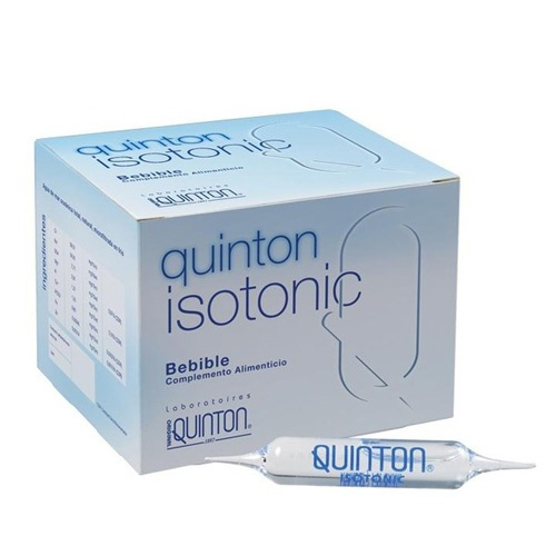 Quinton isotonic amp bebible (10 ml 30 ampollas)