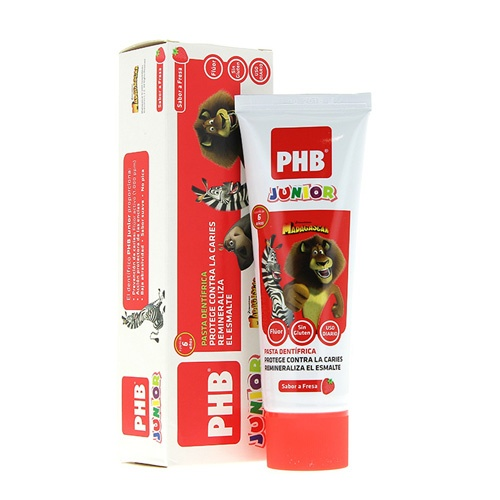 Phb junior pasta dental (fresa 75 ml)