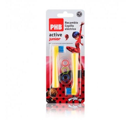 Cepillo dental electrico - phb active junior (2u recambio cabezal)
