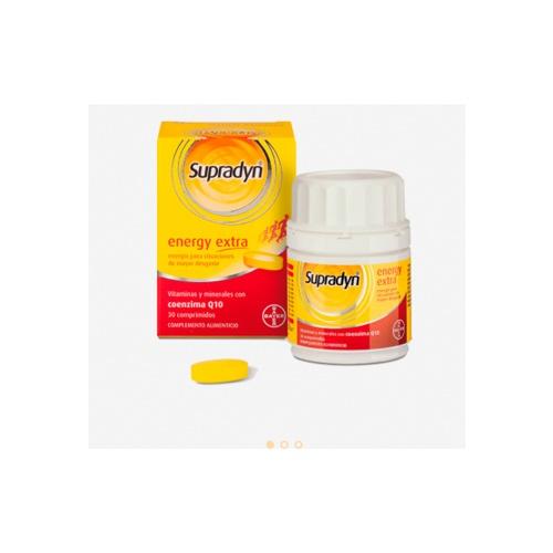 Supradyn energy extra (30 comprimidos)