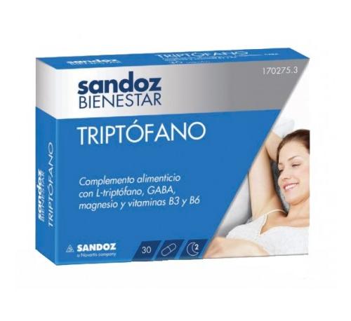 Sandoz bienestar triptofano (30 capsulas)