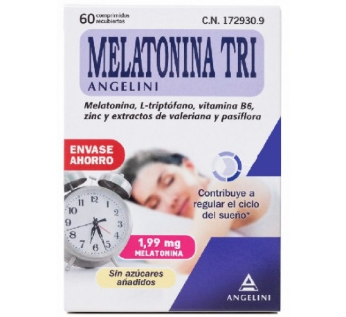 Melatonina tri (1.99 mg 60 comp)