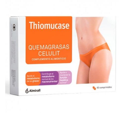 Thiomucase quemagrasa celulit (60 comprimidos)