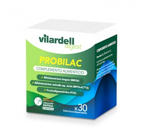 Vilardell digest probilac (30 sticks)