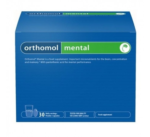 Orthomol mental (30 sobres + 3 capsulas)