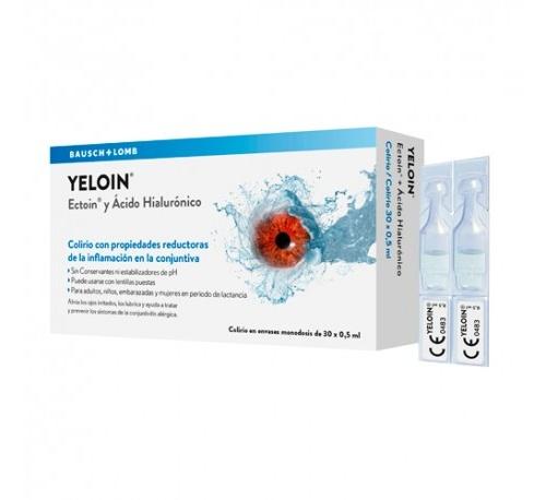 Yeloin colirio monodosis (0,5 ml 30 u)