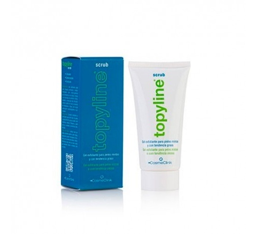 Topyline scrub - cosmeclinik (tubo 50 ml)