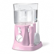 Irrigador bucal electrico - waterpik wp- 300 traveler con adaptador (viajes pink)